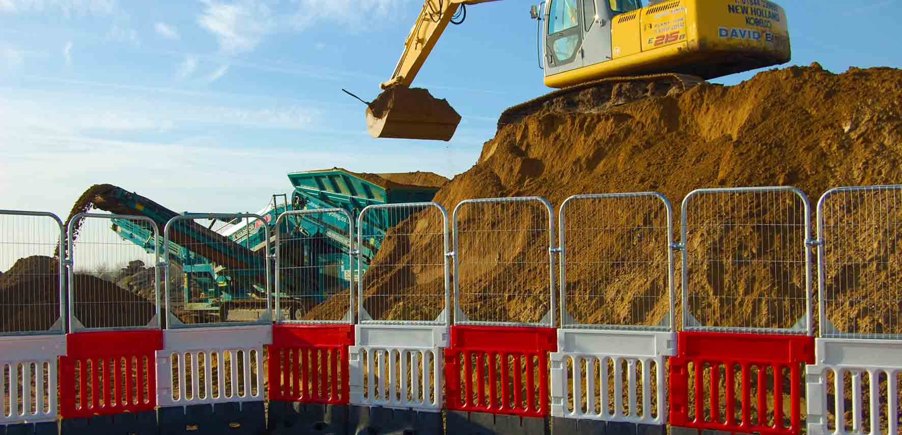 StrongFence Deep Excavation Barrier