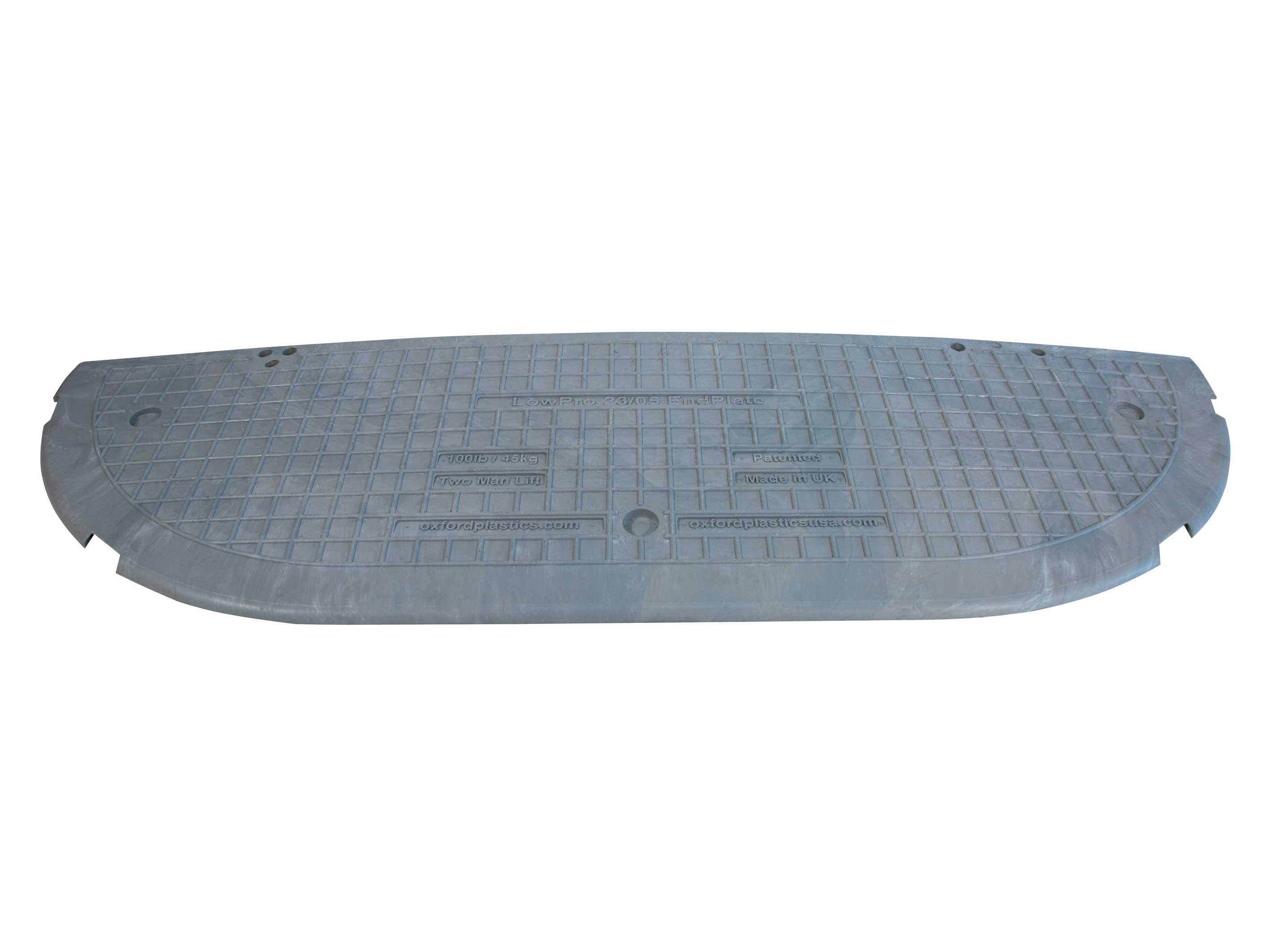 LowPro 23/05 Road Plate End